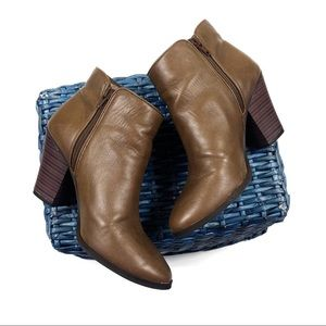Jessica Simpson Brown Ankle Booties Size 8